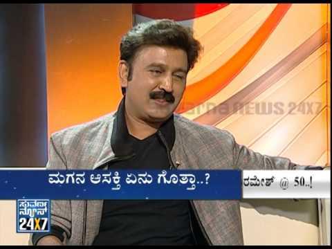 Ramesh Aravind with Suvarna News @ 50 | Part 4