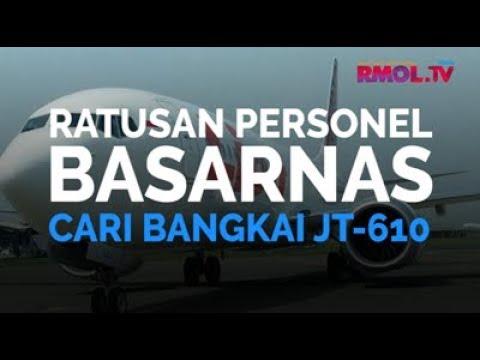 Ratusan Personel Basarnas Cari Bangkai JT-610