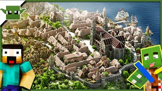 Medieval City - Minecraft Inspiration Series /w Keralis + DOWNLOAD