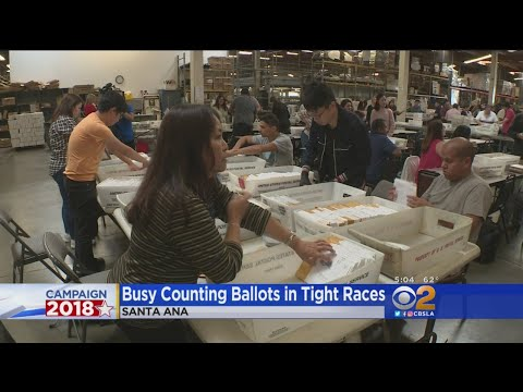 Races In Orange County Still Too Close To Call