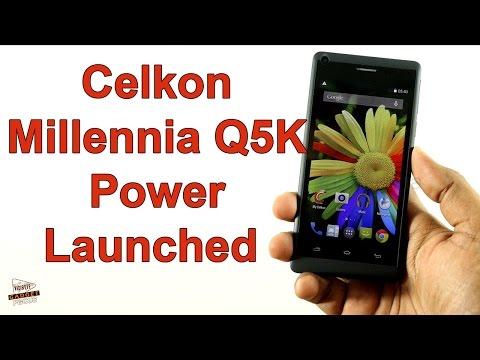 Celkon Millennia Q5K Power Launched