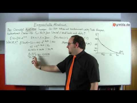 exponentieller Zerfall