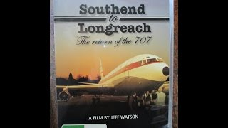 Longreach Australia  city pictures gallery : Qantas 1st Boeing 707 Returning to Longreach Australia DVD Trailer
