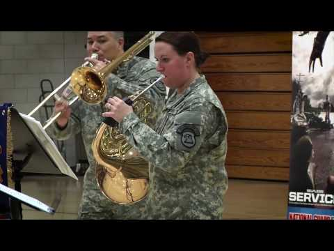 Join The Army Band As Part Of The National Guard