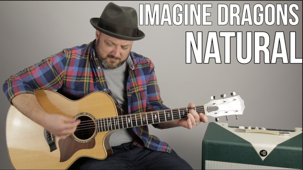 "Imagine Dragons ""Natural"" Guitar Lesson (Super Easy Beginner Acoustic)"