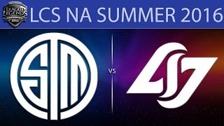 TSM vs CLG, game 1
