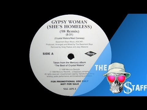 Crystal Waters - Gypsy Woman (La Da Dee) / sound from vinyl 1991
