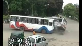 BTV : Bangladesh Live Bus Accident  CCTV Video || BTV World Unofficial