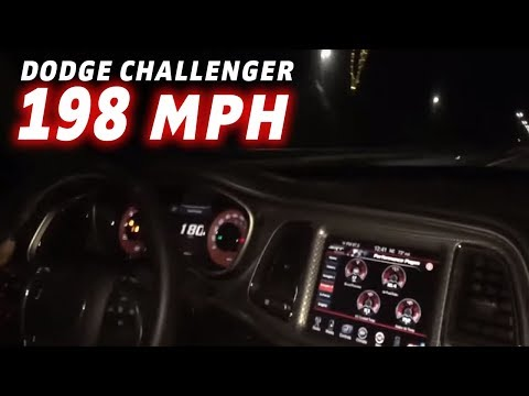 Video Of Dodge Challenger Hitting 198 Mph Lands Man In Jail
