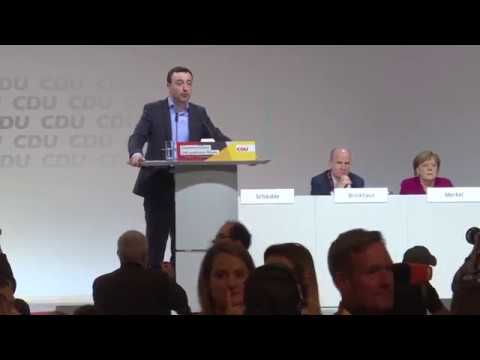 Vorstellungsrede des neuen CDU-Generalsekretärs Paul Zi ...