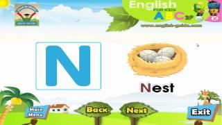 تعليم الانجليزية للاطفال تعليم الحروف ABC