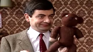 MrBean - Mr Bean - Teddy as a Paintbrush