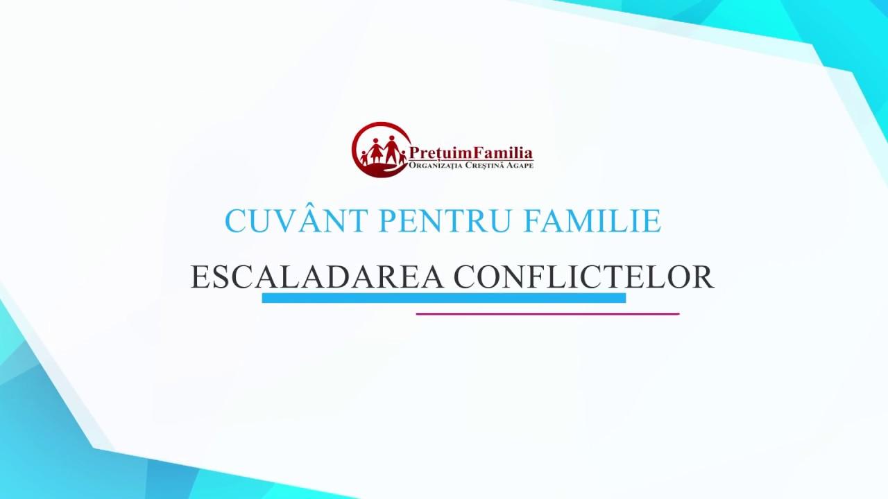 Escaladarea conflictelor în familie - Pr. Stelian Tofană