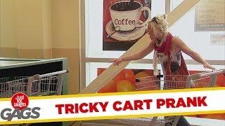 Tricky Shopping Kart Prank