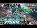 Pokemon Celestial Storm Prerelease and PACK WARS! | Tampa, Florida