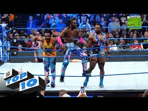 Top 10 SmackDown LIVE moments: WWE Top 10, March 12, 2019