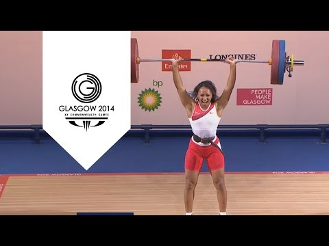 celebrates - After winning gold in the Women's -58kg, Zoe Smith celebrates with a backflip. Subscribe to the Commonwealth Games channel: http://bit.ly/SBJxSX For more information on the Glasgow 2014 Commonwea...
