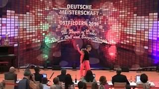 Rebekka Stahl & Daniel Langer - Deutsche Meisterschaft 2014