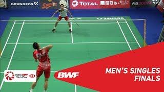 Download Video F | MS | CHOU Tien Chen (TPE) [4] vs Kento MOMOTA (JPN) [2] | BWF 2018 MP3 3GP MP4