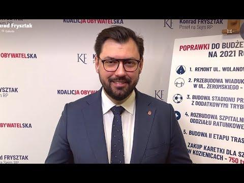 Poseł Konrad Frysztak w TV Dami i Radiu Rekord
