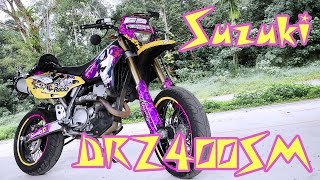 4. Motorcycle Review : 2006 Suzuki DR-Z400SM