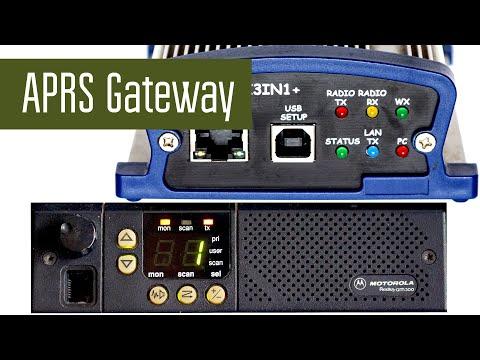 APRS Gateway. Шлюз на основе WX3IN1 и Motorola GM300.
