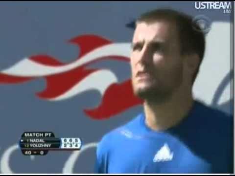 Mikhail Youzhny vs Rafael Nadal, semifinal US Open