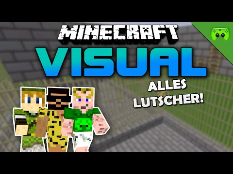 MINECRAFT Adventure Map # 47 - Visual Project 2 «» Let's Play Minecraft Together | HD