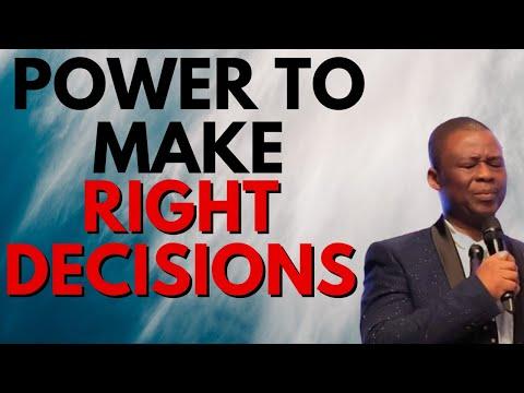 Dr Olukoya Prayers - Power To make Right Decisions 🔥MFM Prayers