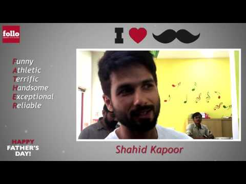 Father's Day Wishes From Shahid Kapoor