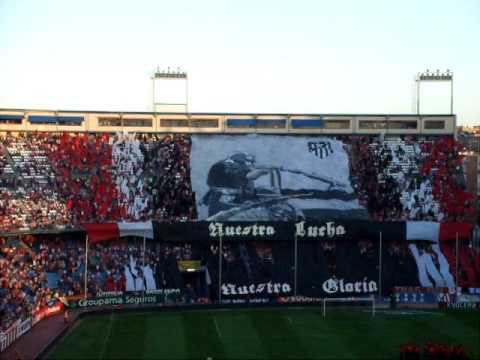 Video - FRENTE ATLETICO TIFO ATM - VALENCIA - Frente Atlético - Atlético de Madrid - España - Europa