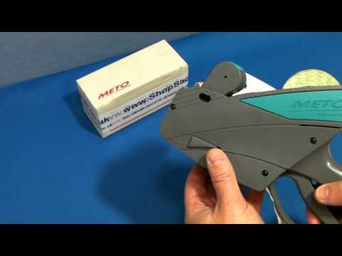 Meto 826PL Pricing Gun How To Use Instructions