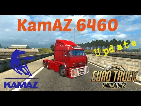 Kamaz 6460 Update 1.22