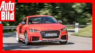 Audi TT RS (2016) - Vollgas im Audi TT RS - Fahrbericht/Test/Review by Auto Bild