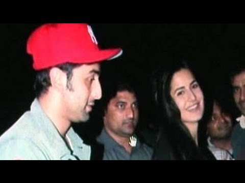 ranbir - Ranbir Kapoor and his rumoured girlfriend Katrina Kaif are back together and it looks like this love affair is bound to stay as both Katrina and Ranbir were ...
