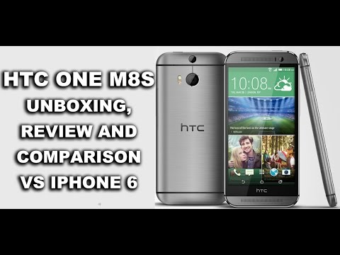 HTC M8S Unboxing, Review &  IPHONE 6 Comparison! (AWESOME!)