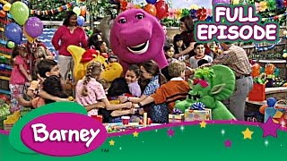 Enjoy this terrific 3 hour compilation of classic Barney episodes! Sit back and relax while Barney and his friends teach us all about the ABC's, 123's,  and how to have great time! WATCH A NEW BARNEY VIDEO EVERY THURSDAY RIGHT HERE ON THE OFFICIAL YOUTUBE CHANNEL.Welcome to Barney and Friends' home on YouTube, where you can find the video clips and full episodes!In the world of Barney, sharing and caring are key, imaginations flourish and there is always a dance at every turn! Join everyone's favorite purple dinosaur, as he and his dino-pals, Baby Bop, BJ and Riff, help give children the range of skills they need to grow using tons of music, fun and laughs to guide the way!For more fun with Barney and Friends, visit the Official Barney and Friends YouTube Channel at http://youtube.com/barneyandfriends