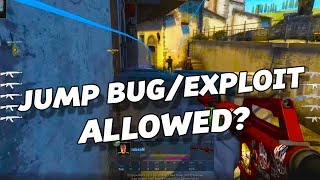 Here's my take on the Jump bug/exploit! M9 Bayonnet Doppler GiveAway: https://gleam.io/fwYF0/houngoungagne-giveawayTrilluXe's video: https://www.youtube.com/watch?v=LKpbsPDDj-k- AD -  Trade Your Skins at: https://skinsjar.com/r/JeffUse code: JEFF to get 5% extra value on your first trade up to $5!Want to trade $20? You will get $1 free. Got $100 to trade? That's extra $5 for you!__EVERYTHING YOU NEED IS DOWN BELOW ▼ ✘ Twitch: https://www.twitch.tv/houngoungagne  (NEW!)✘ Twitter : https://twitter.com/HOUNGOUNGAGNE @HOUNGOUNGAGNE✘ Steam : http://steamcommunity.com/groups/HOUNGOUNGAGNE✘ Facebook: https://www.facebook.com/HOUNGOUNGAGNE ♫ Music: I use a lot the music from MAF: http://www.maf464.com/ And his website is gorgeous btw! :)I also use a lot of songs coming from Incompetech: http://goo.gl/PHwKV2And also some musics are provided by http://www.epidemicsound.com/ thanks to my partnership with ESL► About me◄   (Updated 2 October  2016) Crosshair? Mouse? Monitor?  ➝ Find all my infos down below my twitch: https://www.twitch.tv/houngoungagne(¬‿¬) Graphic Designer: @orikmcfly (¬‿¬)