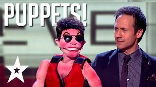 Video 10 Amazingly Funny Ventriloquist Acts on Got Talent MP3, 3GP, MP4, WEBM, AVI, FLV Mei 2018