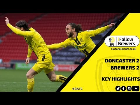 MATCH HIGHLIGHTS   Doncaster Rovers 2-2 Burton Albion видео