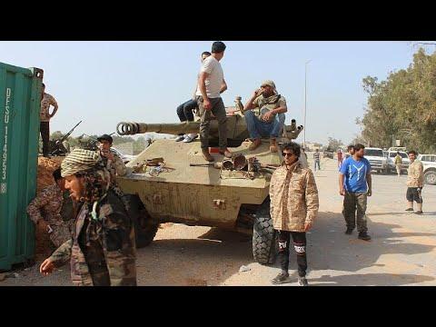 Αντεπίθεση των κυβερνητικών κατά των δυνάμεων του Χαφτάρ…
