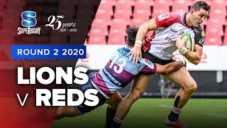 Lions v Reds Rd.2 2020 Super rugby video highlights | Super Rugby Video Highlights