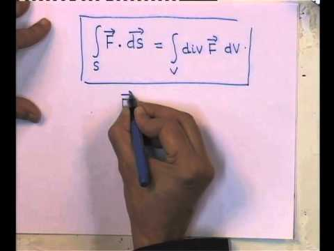 Mod-01 Lec-03 Divergence and Curl of Vector Fields