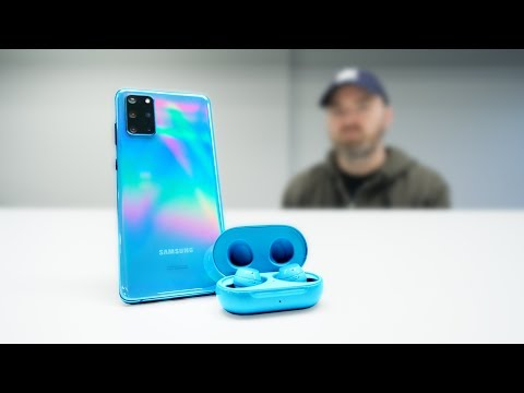 Samsung Galaxy Buds+ (vs AirPods, Galaxy Buds)