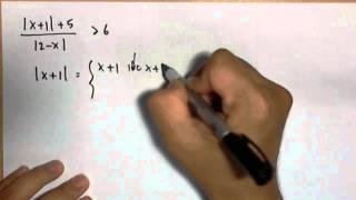 อสมการค่าสัมบูรณ์ (จำนวนจริง ม.4)