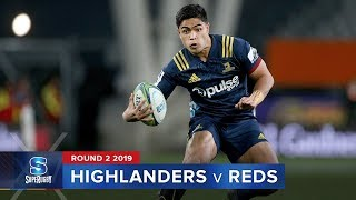 Highlanders v Reds Rd.2 2019 Super rugby video highlights | Super Rugby Video Highlights