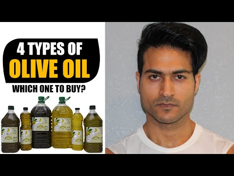 4 Types Of OLIVE OIL In The Market -  Which One To Buy For Cooking, Massage, Deep Fry, Etc