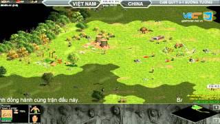 Cam Quýt vs Sướng Tưởng  Random  30/7/2015   Trận 2, game đế chế, clip aoe, chim sẻ đi nắng, aoe 2015