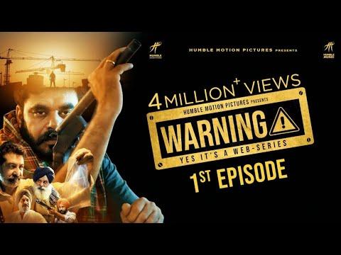 Warning 1st Episode - Gippy Grewal | Amar Hundal | New Punjabi Web Series | Humble Music