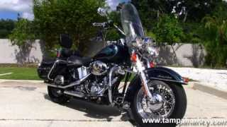 9. Used 2001 Harley Davidson FLSTC Heritage Softail Classic Motorycles for sale